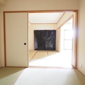 レジデンスウエストアロウ夕陽ヶ丘 和室1